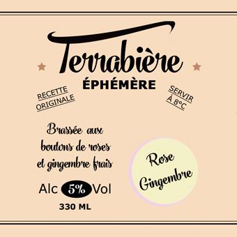 Terrabière Signature Rose Gingembre