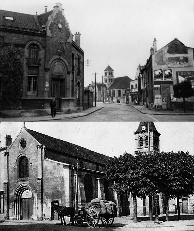 Anciennes vues de l'Église de Deuil-La Barre
