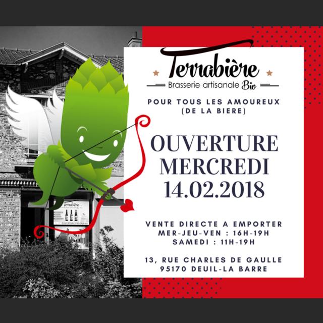 Ouverture de Terrabiere - 14 février 2018