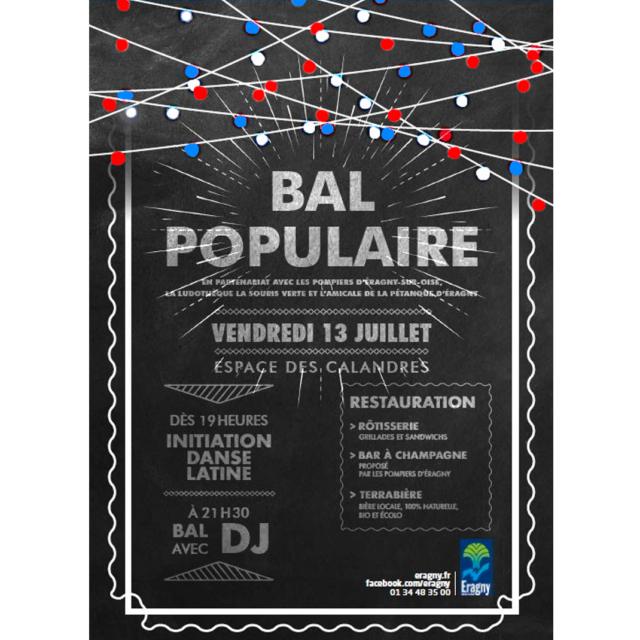 Bal du 13 juillet à Eragny avec Terrabière