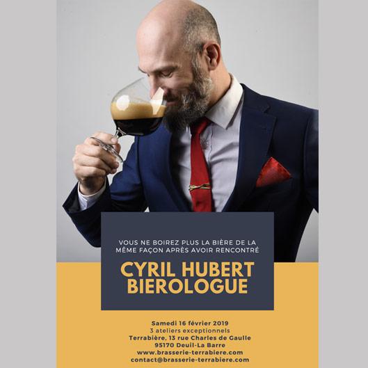 Atelier de dégustation chez Terrabière avec Cyril Hubert