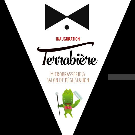 Inauguration Terrabière Invitation