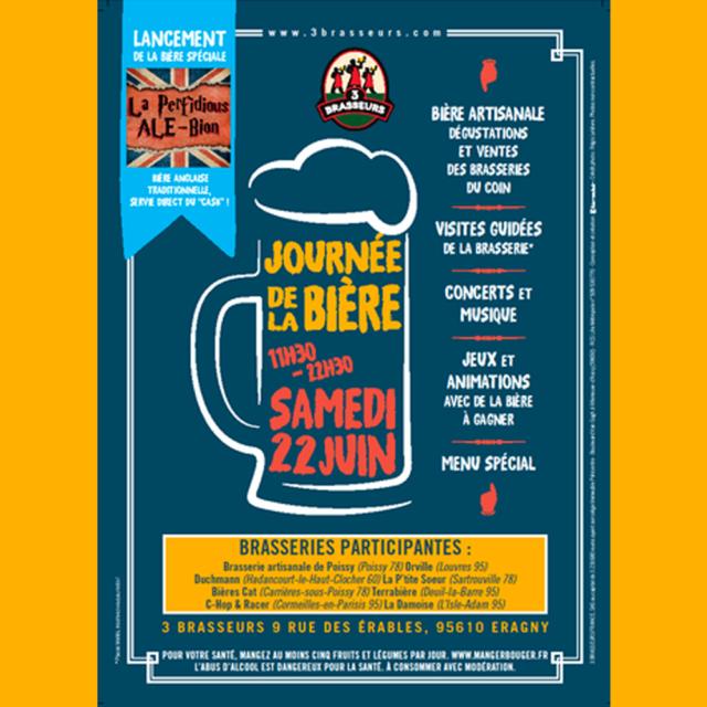 Journée de la bière à Eragny - Terrabière