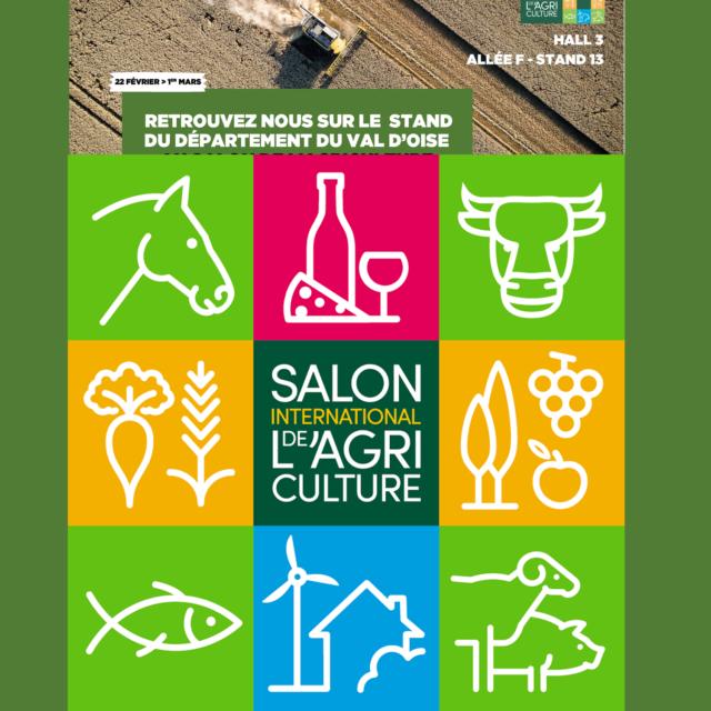 Salon de l'agriculture 2020 Paris - Terrabière - Département du Val d'Oise
