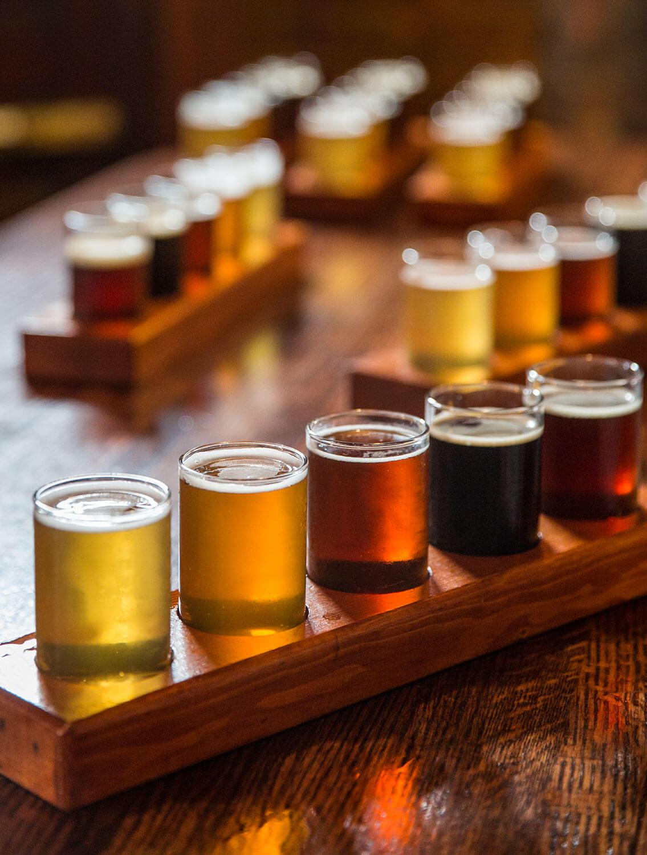 Terrabière - Planche de dégustation de bières