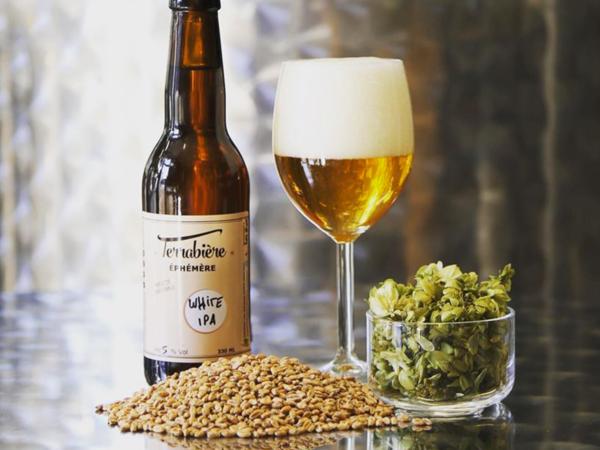 Bière du moment - white ipa - Terrabière